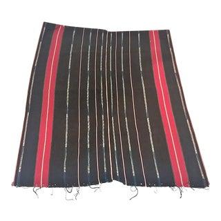 Mid Century Vietnamese Tribal Woven Fabrics - Set of 3