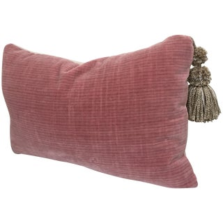 """Cool&Collected"" Italian Velvet Pillow"