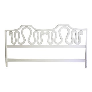 French Ornate King Headboard