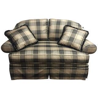 Pearson Plaid Love Seat