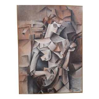 1974 Watts Picasso Girl With Mandolin