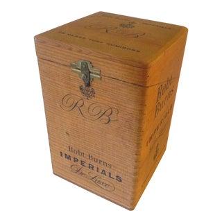 Cigar Box w/25 Tubes
