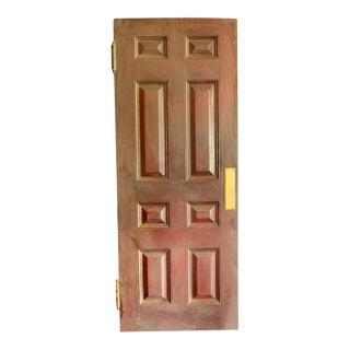 Mahogany Eight Panel Interior Push Door