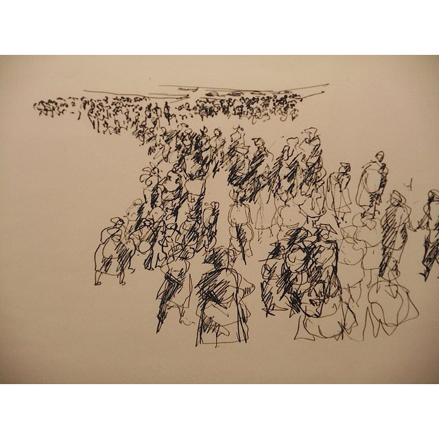 Paul Chidlaw Vintage Abstract Expressionist Print - Image 3 of 7
