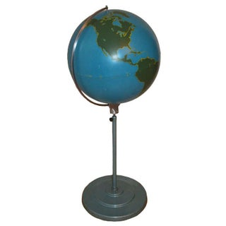 Military Globe on Adjustable Stand by A.J. Nystrom