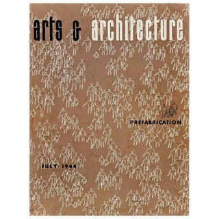 "1944 ""Arts & Architecture"" Magazine Cover by Ray Eames"