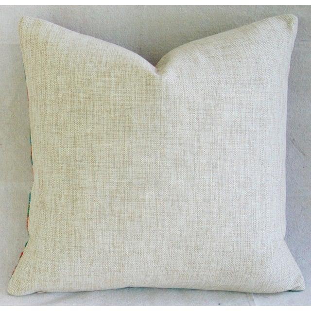 Sale! 4 Summer Floral Linen Pillow Covers - Set 4 - Image 7 of 9