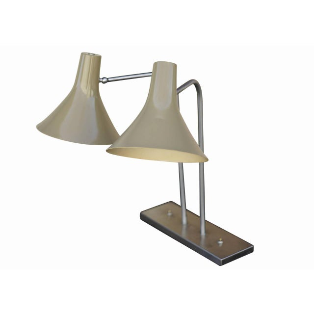 Image of Walter Von Nessen Dual Desk Lamp