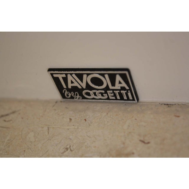 Image of Tavola by Oggetti 90s Post Modern Side Table