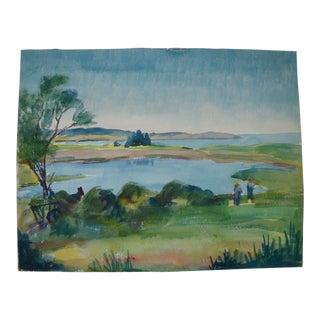 Prescott Mike Jones Bay Landscape Painting
