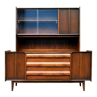 Lane 'First Edition' Two-Piece Buffet & Hutch