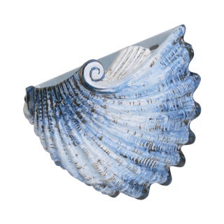Italian Seashell Wall Planter