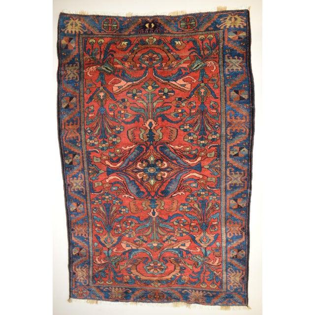 """Antique Persian Lilihan Rug - 5'5"""" x 8'9"""" - Image 2 of 6"""