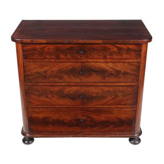 1840s Louis Philippe Walnut Commode