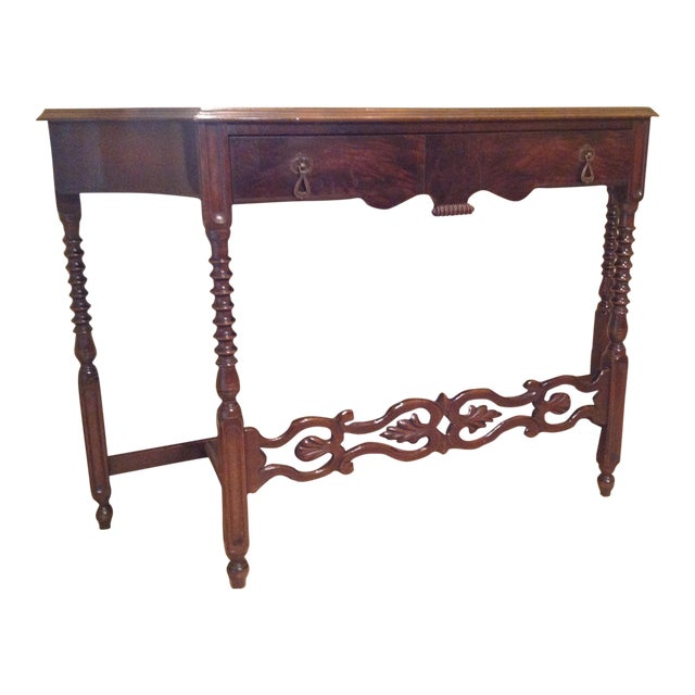 American Walnut Sofa Table - Image 1 of 8
