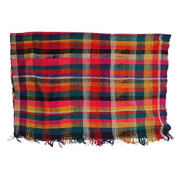 Moroccan Striped Blanket - Image 4 of 7