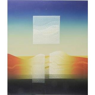 Carlos Da Vila Abstract Op Art Etching