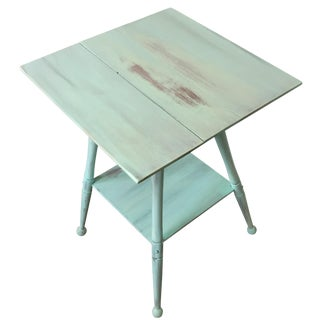 Shabby Chic Turquoise Table