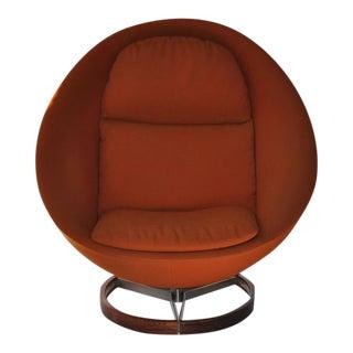Large-Scale Scandinavian Lounge Chair
