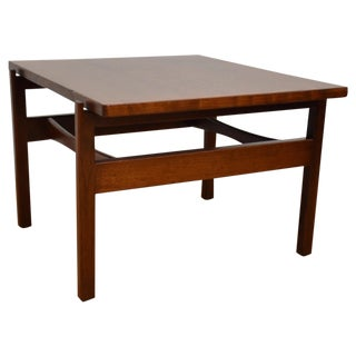 Jens Risom Mid-Century Walnut End Table