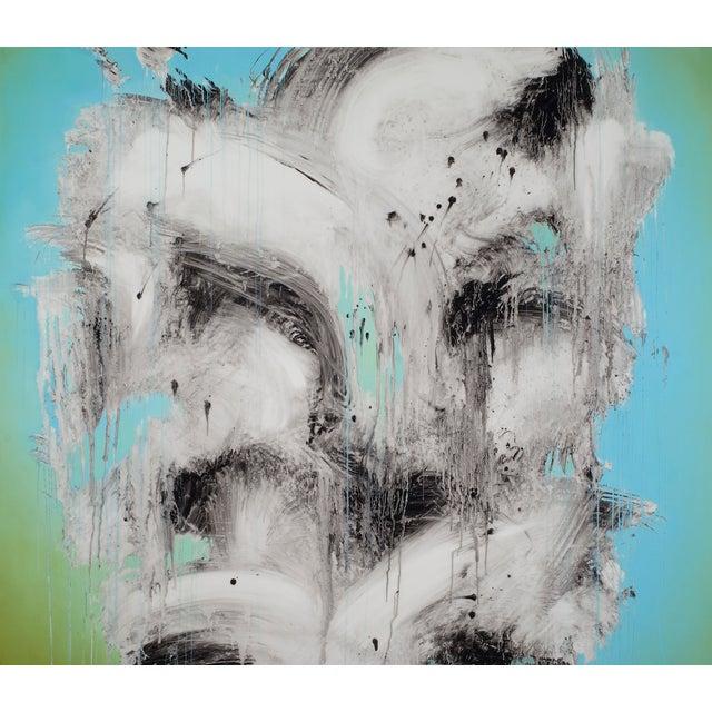 "Jeff Muhs ""Tattooed With Nine Dragons"" Painting - Image 3 of 4"