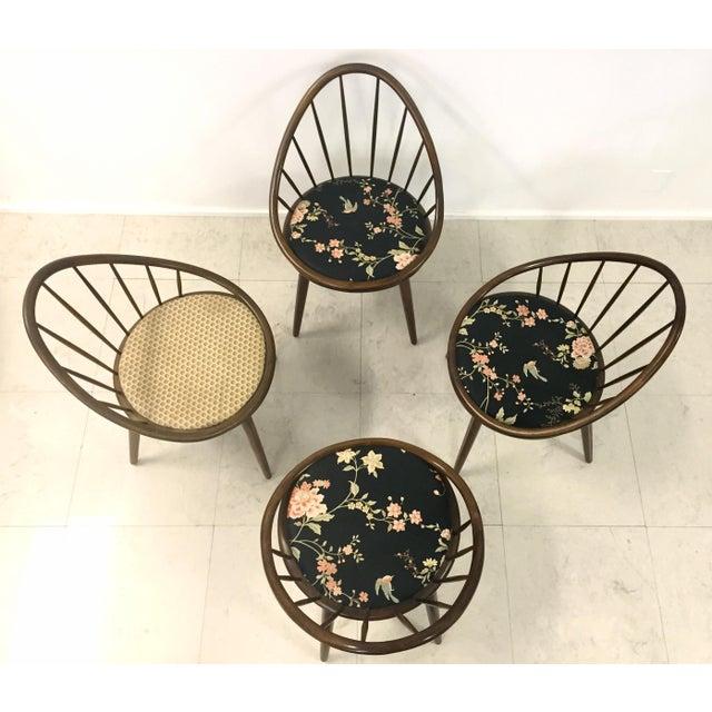 Image of Vintage Kofod Larsen for Selig Danish Chairs - S/4