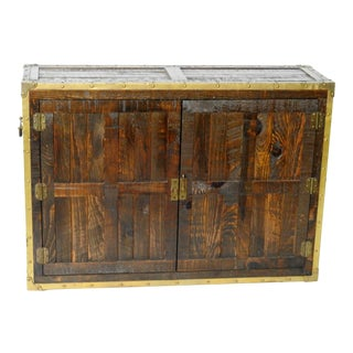 Habersham Brass Trimmed Campaign Chest