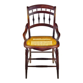 Victorian Cane Seat Chair