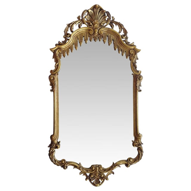 French Gilt Carved Mirror - Image 1 of 10