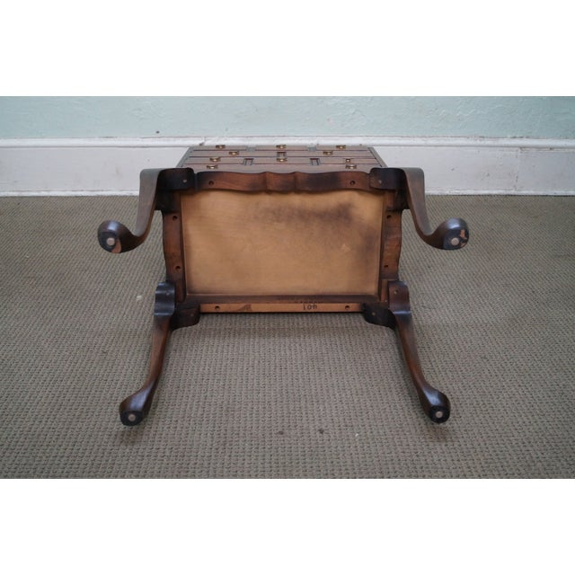 Hickory Chair Mahogany Queen Anne Silver Chest - Image 9 of 10