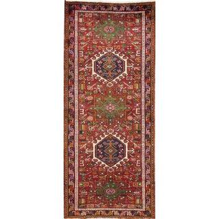 "Apadana Vintage Persian Heriz Rug - 2'8"" x 6'6"""