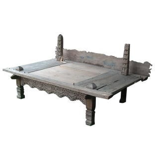 Antique Bali Bed/Coffee Table