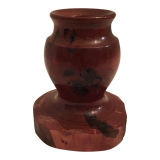 California Redwood Burl Vase