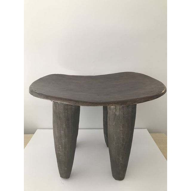 African Carved Senufo Stool - Image 6 of 9