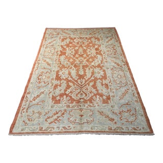 """Bellwether Rugs Contemporary Genuine Oushak Rug - 4'3"""" X 6'8"""""""
