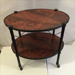 Image of Oval Empire Inspired Occasional Table