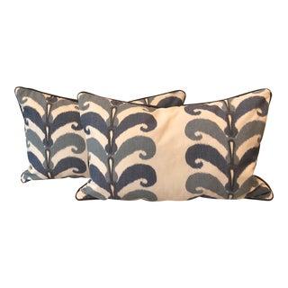 Ikat Motif Pillows - A Pair
