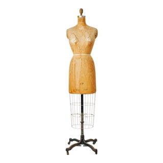 Vintage Bauman Model Dress Form Ladies Mannequin