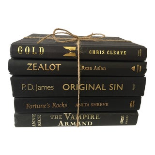 Black Clothbound Novels - Set of 5