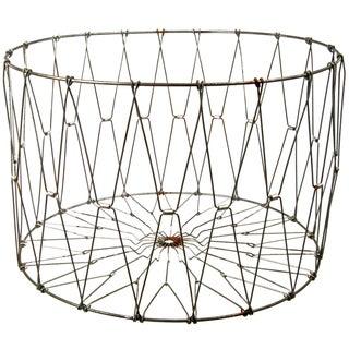 Vintage Inspired Wire Folding Basket