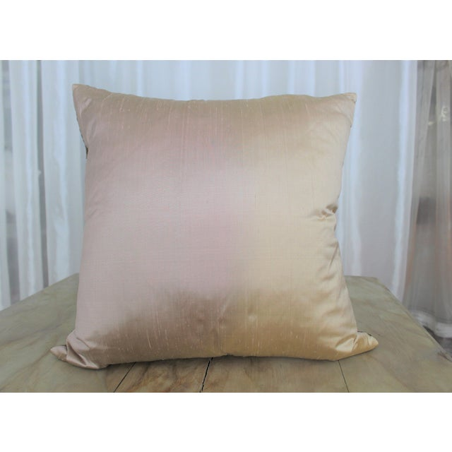 Isabelle H. Dual Color Metallic Silk Pillow - Image 7 of 7
