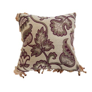 Square Jacquard And Silk Pillow