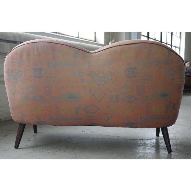 Mid Century Loveseat Attributed to IB Kofod Larsen - Image 5 of 10