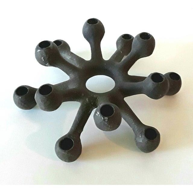 Dansk Danish Modern Spider Iron Candle Holder - Image 6 of 6