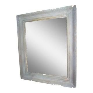Vintage Gray Frame Mirror - 28'' x 33''