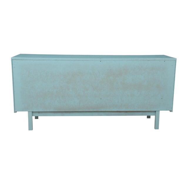 Mid-Century Blue Dresser - Image 6 of 7