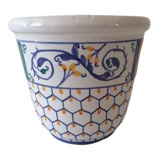 Vintage Hollywood Regency Pottery Cachepot