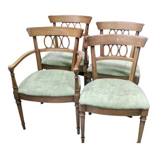 Drexel Art Deco Style Dining Chairs- Set of 4