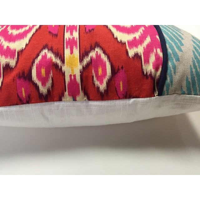 Vibrant Global Print Pillow - Image 3 of 3