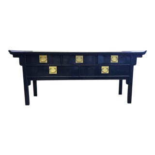 Vintage Newly Lacquered Ming Console